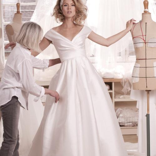 Robe de mariée Atelier Emelia Biarritz Pays Basque 6