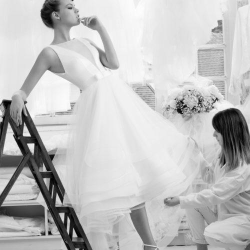 Robe de mariée Atelier Emelia Biarritz Pays Basque 8